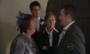 Angie Rebecchi, Frazer Yeats, Kevin Rebecchi, Toadie Rebecchi in Neighbours Episode 5401