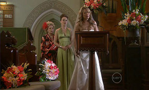 Steph Scully, Libby Kennedy, Valda Sheergold in Neighbours Episode 5401