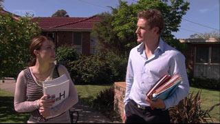 Dan Fitzgerald, Libby Kennedy in Neighbours Episode 5404