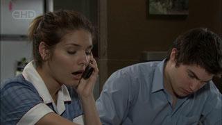 Rachel Kinski, Declan Napier in Neighbours Episode 5405