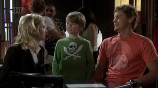 Kirsten Gannon, Mickey Gannon, Ned Parker in Neighbours Episode 5405