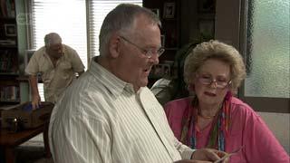 Lou Carpenter, Harold Bishop, Valda Sheergold in Neighbours Episode 5406