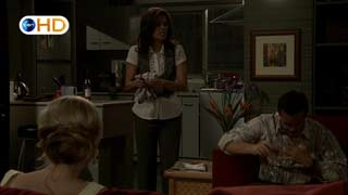 Elle Robinson, Rebecca Napier, Paul Robinson in Neighbours Episode 5408
