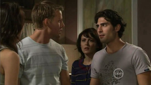 Oliver Barnes, Rosie Cammeniti, Marco Silvani in Neighbours Episode 5413