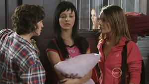 Bridget Parker, Taylah Jordan, Rachel Kinski in Neighbours Episode 5413