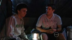 Zeke Kinski, Declan Napier in Neighbours Episode 5413