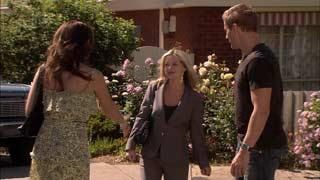 Libby Kennedy, Samantha Fitzgerald, Dan Fitzgerald in Neighbours Episode 5416