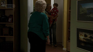 Valda Sheergold, Steph Scully, Charlie Hoyland in Neighbours Episode 5417