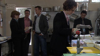 Paul Robinson, Oliver Barnes in Neighbours Episode 5418
