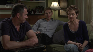 Susan Kennedy, Karl Kennedy, Dan Fitzgerald in Neighbours Episode 5419