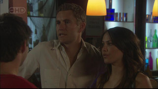 Dan Fitzgerald, Libby Kennedy, Declan Napier in Neighbours Episode 5419
