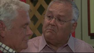 Lou Carpenter, Harold Bishop in Neighbours Episode 5420