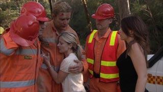 Dan Fitzgerald, Samantha Fitzgerald, Libby Kennedy in Neighbours Episode 5423