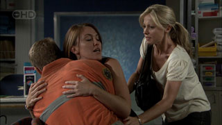 Dan Fitzgerald, Libby Kennedy, Samantha Fitzgerald in Neighbours Episode 5423
