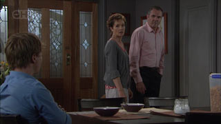 Susan Kennedy, Karl Kennedy, Ringo Brown in Neighbours Episode 5442