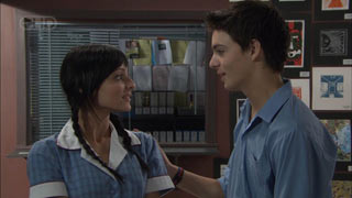 Taylah Jordan, Zeke Kinski in Neighbours Episode 5442