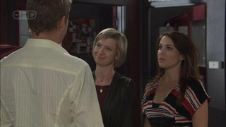 Dan Fitzgerald, Helen Carr, Libby Kennedy in Neighbours Episode 5442