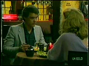 Paul Robinson, Terry Inglis in Neighbours Episode 0081