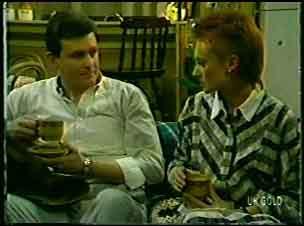 Des Clarke, Joan Langdon in Neighbours Episode 0084
