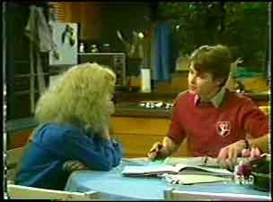 Wendy Gibson, Scott Robinson in Neighbours Episode 0089