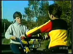 Bernie Sutton in Neighbours Episode 0092