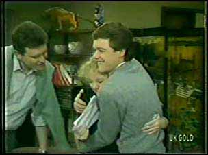 Des Clarke, Terry Inglis, Paul Robinson in Neighbours Episode 0093