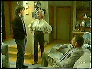 Danny Ramsay, Helen Daniels, Jim Robinson in Neighbours Episode 0094