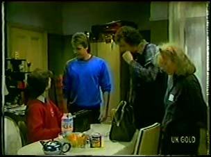 Danny Ramsay, Shane Ramsay, Max Ramsay, Terry Inglis in Neighbours Episode 0103