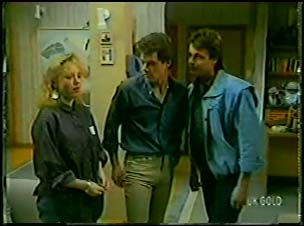Terry Inglis, Paul Robinson, Shane Ramsay in Neighbours Episode 0103