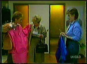 Joan Langdon, Eileen Clarke, Daphne Lawrence in Neighbours Episode 0104