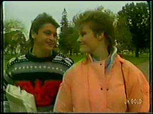Shane Ramsay, Daphne Lawrence in Neighbours Episode 0104