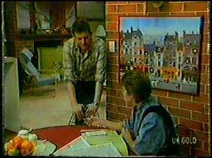 Des Clarke, Daphne Lawrence in Neighbours Episode 0104