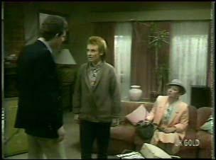 Des Clarke, Joan Langdon, Eileen Clarke in Neighbours Episode 0106