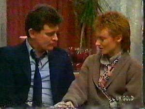 Des Clarke, Joan Langdon in Neighbours Episode 0107