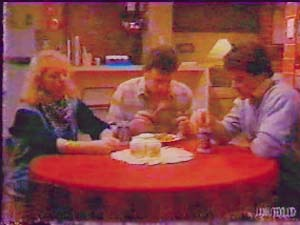 Terry Inglis, Des Clarke, Paul Robinson in Neighbours Episode 0107