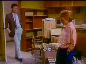 Des Clarke, Joan Langdon in Neighbours Episode 0108