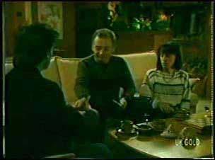 Danny Ramsay, Richard Morrison, Maria Ramsay in Neighbours Episode 0110