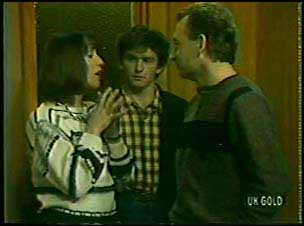 Maria Ramsay, Danny Ramsay, Richard Morrison in Neighbours Episode 0110