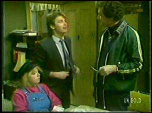 Terry Inglis, Shane Ramsay, Max Ramsay in Neighbours Episode 0110