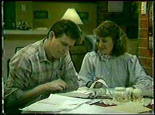 Des Clarke, Julie Robinson in Neighbours Episode 0111