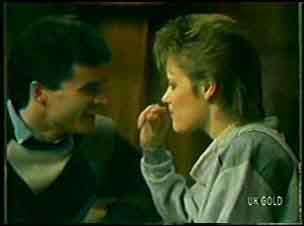 Colin Adamson, Daphne Clarke in Neighbours Episode 0111
