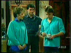 Daphne Clarke, Colin Adamson, Shane Ramsay in Neighbours Episode 0111