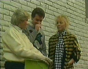 Helen Daniels, Paul Robinson, Terry Inglis in Neighbours Episode 0113