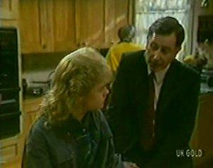 Rachel Burns, Mr. Manning in Neighbours Episode 0116