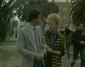 Paul Robinson, Terry Inglis in Neighbours Episode 0116