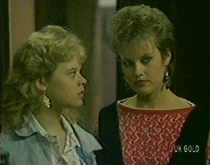 Rachel Burns, Daphne Clarke in Neighbours Episode 0117