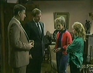 Ian Burns, Mr. Manning in Neighbours Episode 0117