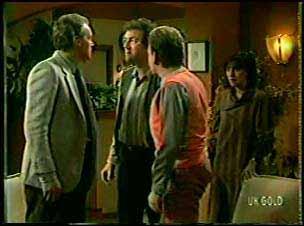 Jim Robinson, Max Ramsay, Richard Morrison in Neighbours Episode 0121