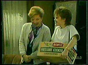 Eileen Clarke, Daphne Clarke in Neighbours Episode 0122