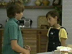 Bradley Townsend, Lucy Robinson in Neighbours Episode 0219